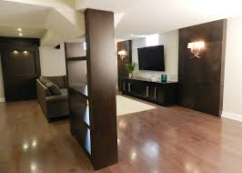 refined by design interior design toronto basement renovation