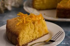 citrus syrup cake recipe food dee dum