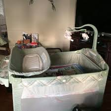 Playpen With Changing Table And Bassinet Find More Grace Pack N U0027 Play 3 In 1 Playpen Bassinet And Change