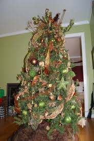 how to decorate tree with ribbon decorating