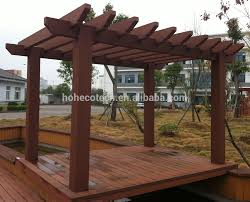 Pergola Plastic Roof by High Density Wood Plastic Composite Pergola Posting Buy Pergola