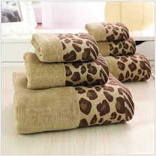 Decorative Bathroom Towels Leopard Hand Towels Leopard Kitchen Towels Zazzle Perfect Animal
