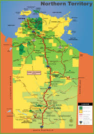 Northern Asia Map by Northern Territory Maps Australia Maps Of Northern Territory Nt