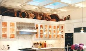 above kitchen cabinets ideas space above kitchen cabinet decorating ideas design ideas for the