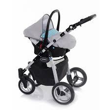 poussette siege auto bebe libero trio poussette et gris 3en1 combiné siège auto