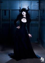 gothic black dragon wedding dress victorian corset dressjacket