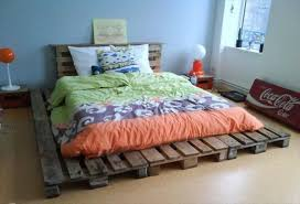Pallet Platform Bed 12 Genius Ideas For Pallet Bed With Lights Underneath