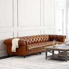 Chesterfield Sofa Brown Southerlyn Brown Leather Chesterfield Sofa