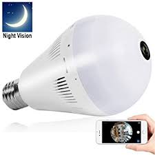 light bulb security system amazon com bellcam light bulb security camera wifi ip wireless