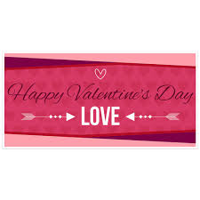 happy valentines day banner happy s day banner party backdrop paper blast