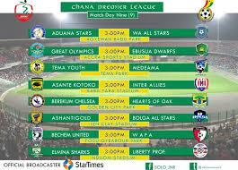 b premier league table live 2016 17 ghana premier league week 9 coverage ghheadlines
