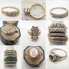 cheap antique and the cheapest vintage engagement rings