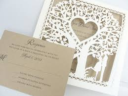 tree wedding invitations tree wedding invites bloomcreativo