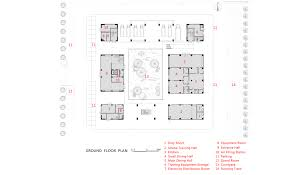 Fire Station Floor Plans Gallery Of Fire Station Of Tianfu New District Cswadi 20