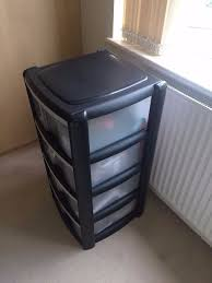 Drawer Storage Units Wilko Storage Unit 4 Drawer Assorted In Bromley London Gumtree