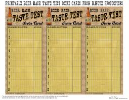 bnute productions free printable beer tasting score card and more