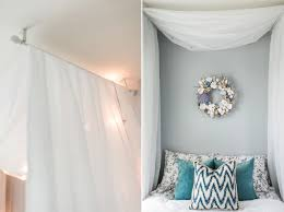 Curtains For Canopy Bed Best 25 Canopy Bed Curtains Ideas On Pinterest In Make