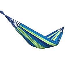 amazon com buffalo double wide hammock cotton fabric travel