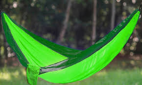75 off on portable two person hammock groupon goods