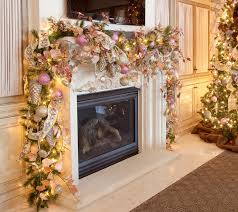 Christmas Decorated Home by Decor Mantel Decorating Ideas Fireplace Christmas Decorations Were