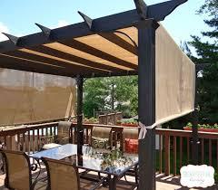pergola with curtains scalisi architects