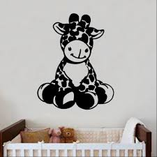 cheap wall art wall art banksy wall art vw wall art metal baby giraffe decal wall sticker