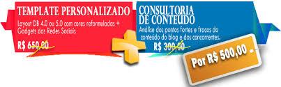 templates blogger personalizados template personalizado consultoria de conteúdo por um preço