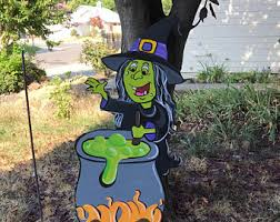 Halloween Outdoor Decorations Ireland by Hand Painted Party Decorations Foam Cutouts Yard By Creativchick