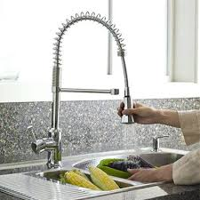 Faucets For Kitchen Sinks Kitchen Sink Faucets Pterodactyl Me