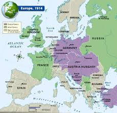 Map Of Europe 1914 Map Of Western Europe With Peninsulas Roundtripticket Me