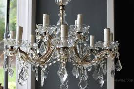 12 Arm Chandelier Antiques Atlas 12 Arm Therese Chandelier