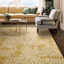 Carpet Ideas For Living Room by Flooring Modern Living Room Design With Comfortable Beige Sofa