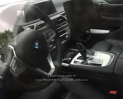 bmw 5 series dashboard all new bmw 5 series interior snapped without camouflage