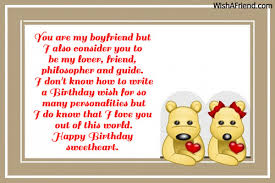boyfriend birthday card message birthday wishes for boyfriend and