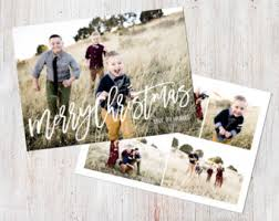 photo christmas card etsy