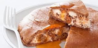 chataigne cuisine tourte à la farine de châtaigne et au miel facile et pas cher