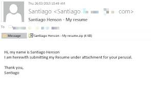 how to send resume by email sample hr departments beware new is
