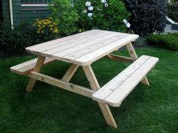 Cedar Patio Table Living Today 6 Foot Red Cedar Picnic Table Bench