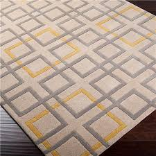 Modern Yellow Rug Awesome Modern Yellow Gold Area Rugs Allmodern Inside Yellow And