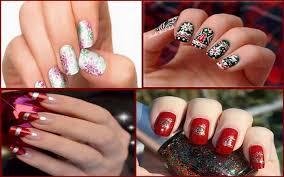best u0026 easy christmas nail art designs ideas