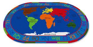 all around the world map rug kidcarpet com