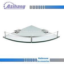 Glass Corner Shelves For Bathroom by Glass Corner Shelf Glass Corner Shelf Suppliers And Manufacturers