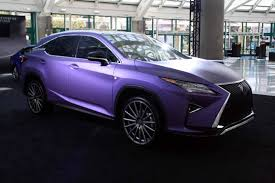 lexus purple gallery lexus brings army of modified cars to the la auto show