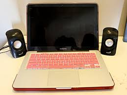 How To Make A Laptop Lap Desk by How To Connect Speakers To Your Laptop With Pictures Wikihow
