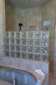 glass block bathroom designs beautiful decorating ideas using rectangular white glass blocks