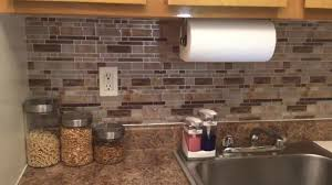 kitchen backsplash peel and stick kitchen amazing peel and stick glass tile backsplash stick down