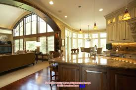 open concept house plans l shaped kitchen layouts design plansopen