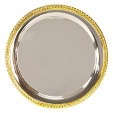 engraved silver platter silver plated tray