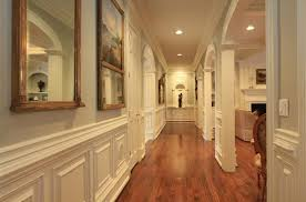 Molding For Wainscoting Traditional Hallway With Crown Molding U0026 Wainscoting In Roswell
