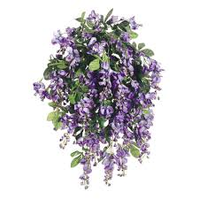 wisteria home decor violet blue silk wisteria bush45 branches31 wisteria branches